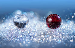 Fallimg Balls Stock Image
