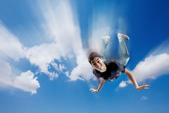 Falling Royalty Free Stock Image