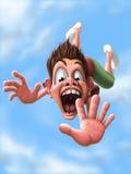 falling stock de ilustración
