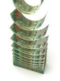 Falling Argentina Pesos Stock Photo