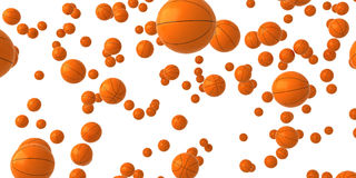 Falling balls. Look at more falling objects, balls in my portfolio Royalty Free Stock Images