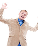 Falling businessman Stock Photos