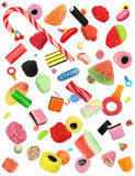 Falling Candy Isolated royalty free stock photo