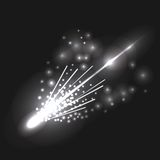 Falling Comet Stock Photo