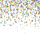 falling confetti endless royalty free illustration
