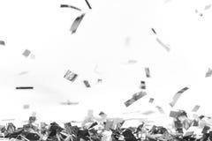Falling confetti Stock Photo
