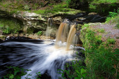 Falling Creek Falls. In the northern part of Florida Royalty Free Stock Photos