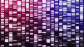 Falling DNA strands stock footage
