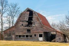 Falling Down Barn Stock Image