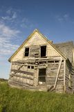 Falling down House Royalty Free Stock Image