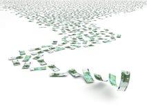 Falling Euro Stock Images