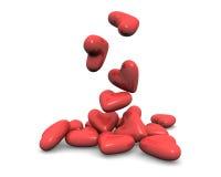 Free Falling Hearts Stock Photo - 12673570
