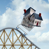 Falling Home Prices Royalty Free Stock Image
