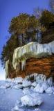 Falling Ice Stock Image
