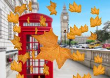 Autumn in London Royalty Free Stock Photography
