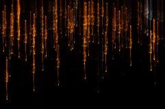 Falling lights Stock Image