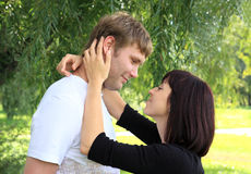 Falling in love. Royalty Free Stock Images