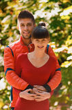 Falling in love autumn Royalty Free Stock Photos