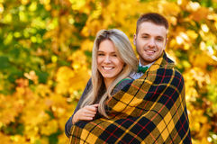 Falling in love autumn Stock Photo