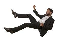 Falling Man isolated stock image