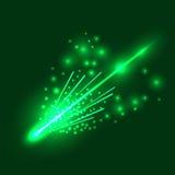 Falling Meteorite Royalty Free Stock Image