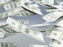 Falling money Royalty Free Stock Photography