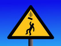 Falling objects sign Stock Photography