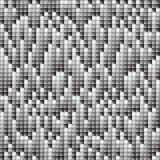 Falling pixels background. Texture of square with gray scale Royalty Free Stock Photography