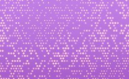 Falling pixels. Pixel abstract mosaic. Vector background. Backdrop hatch with halftone effect. Vintage pop art retro vector illustration, blur effect Stock Photography