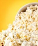 Falling popcorn Royalty Free Stock Image