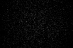 Falling powder glitter confetti. Explosion on black background,. 3d illustration Royalty Free Stock Photos