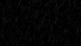 Falling raindrops