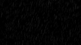 Falling raindrops vector illustration