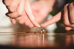Falling Ring Royalty Free Stock Image