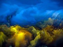 Falling Skies Royalty Free Stock Images