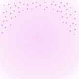 Falling Snow. Pink faded background with pink snowflakes Royalty Free Stock Image