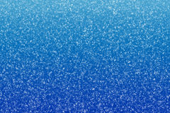 Falling snow. Snowflakes on blue winter background vector illustration