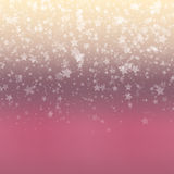 Falling Snow Background. Abstract Snowflake Pattern. Royalty Free Stock Photos