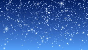 Falling Snow. Background animation loop