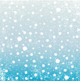 Falling Snow Background Stock Photography