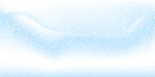 Falling snow background. Vector illustration with snowflakes. Winter snowing sky. royalty free illustration