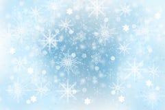 Falling Snow - Background. Winter illustration: Falling Snow - Background Stock Photo