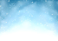 Falling Snow Background Royalty Free Stock Images