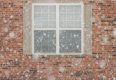 Falling snow Royalty Free Stock Images