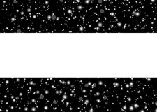 Falling snow landscape background beautiful banner wallpaper des Royalty Free Stock Photography
