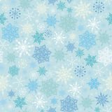 Falling Snow Seamless Pattern Background Royalty Free Stock Photography