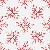 Falling snow  seamless pattern. White splash on blue background Royalty Free Stock Photography