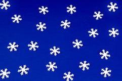 Falling snowflakes Royalty Free Stock Photos