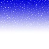 Falling snowflakes. Stock Image