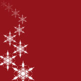 Falling snowflakes. Royalty Free Stock Photography